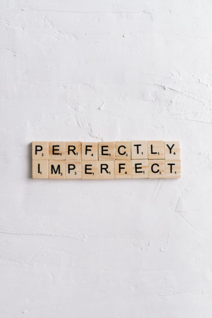 , Message Monday – Imperfections